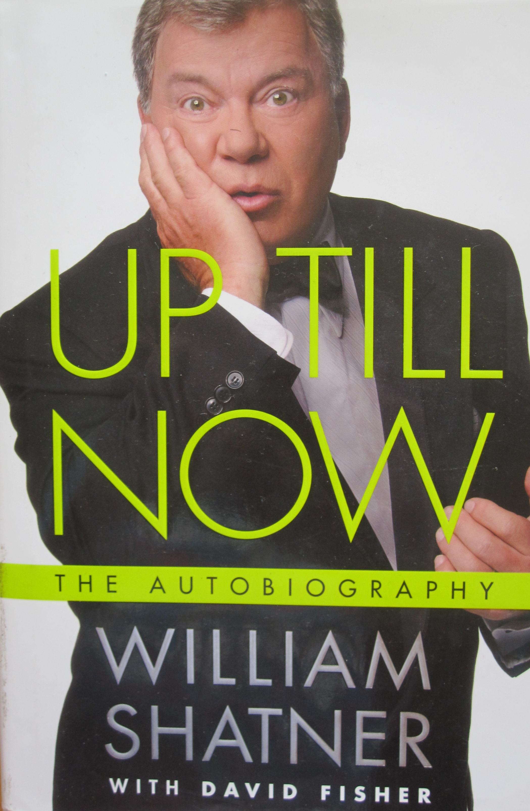 book review william shatner�s autobiography this