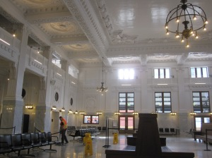 The train station was pretty cool - not very crowded until the aptly named Empire Builder from Chicago arrived.