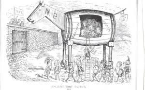 J.W. Bengough, Grip, 1878
