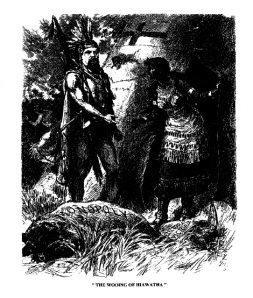 """The Wooing of Hiawatha,"" Dominion Illustrated News, 28 July 1888."