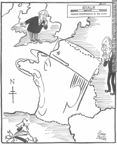 John Collins - New Map of France 1958