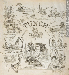 John Henry Walker, Punch in Canada, 1849 (see the lower left hand corner).