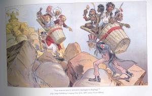 The White Man's Burden - Gillam - 1899