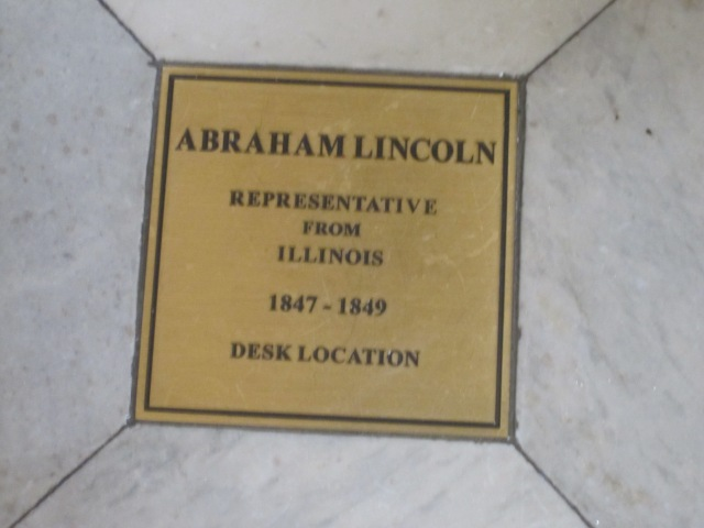 If they commemorate where your desk was, you're probably doing it right. Or you just were an elected official.