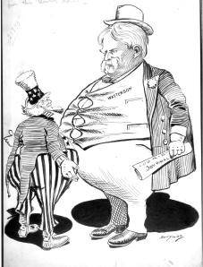 """Uncle Sam's Not the Only Expansionist on the Bench,"" Clifford K. Berryman, 20 December 1898"