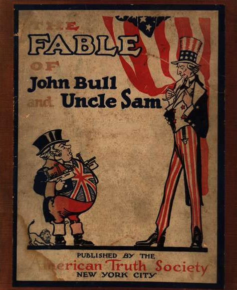 """The Fable of John Bull and Uncle Sam,"" 1900."
