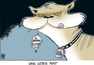 """One Less Rat,"" Randy Bish, Tribune-Review (Pennsylvania), in Best Editorial Cartoons of the Year: 2007 Edition"