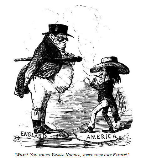 """What? You young Yankee-noodle, strike your own father!"" 1846"