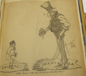 "From ""Caricatures and cartoons published during the Spanish-American war, 1898"" (LOT 7862), US Library of Congress."