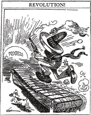 "Image (circa 1910s) from wikipedia, via ""What's to Be Done with 'Em?: Images of Mexican Cultural Backwardsness, Racial Limitations and Moral Decrepitude in the United States Press 1913-1915, Mexican Studies, Winter Vol. 14 No. 1:23-70. by Mark C. Anderson."