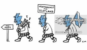 Scottish independence. Is it Scotland marching into the past?