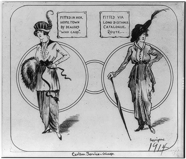 Carlton Service Chicago, 1914