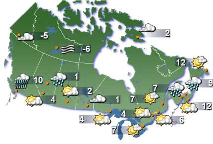 weather network oct 12 2012