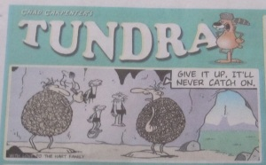 Tundra Comics, 21 Sept 2013, seen in the Ottawa Citizen