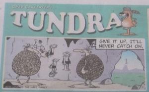 Tundra Comics, 21 Sept 2013, seen in the Ottawa Citizen