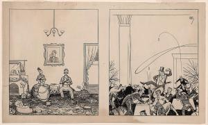 """""""A happy New Year 1867 - a happy New Year 1917,""""  by Rea Irvin, 17 November 1916, via the Library of Conress"""
