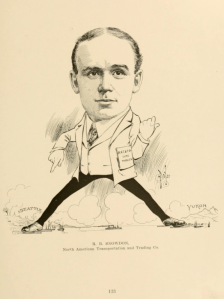Cartoons and caricatures of Seattle citizens, page 133