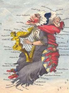 """Lady Hibernia"" by Robert Dighton, 1795"