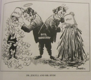 Bob Chambers, Chronicle Herald, Halifax, 9 June 1972, as seen in Hou & Hou's Great Canadian Political Cartoons Vol. 3