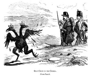 split crow Crimea - C19 in caricature