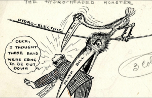 """A Hydro-Headed Monster,"" Donald McRitchie - Halifax Herald - 1921"